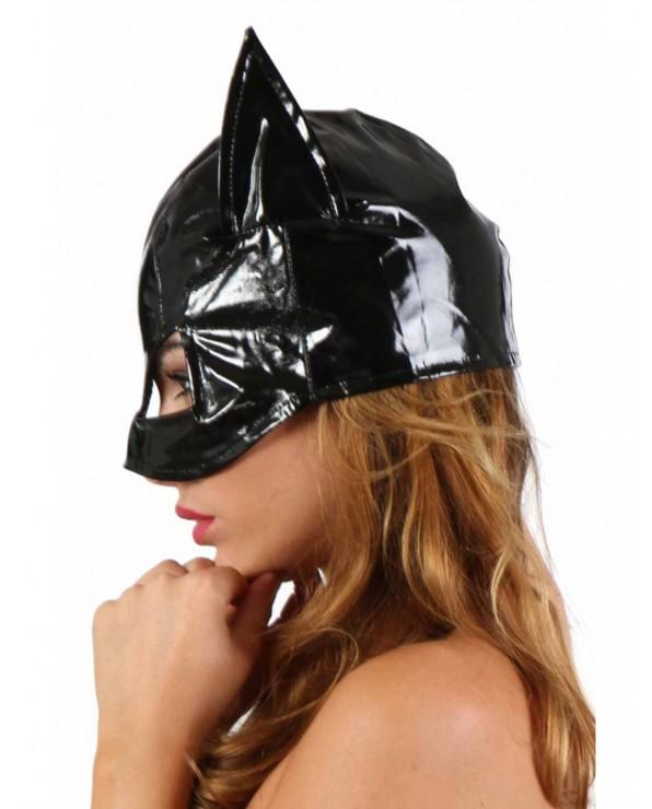 Catwoman Mask In Vinile nero