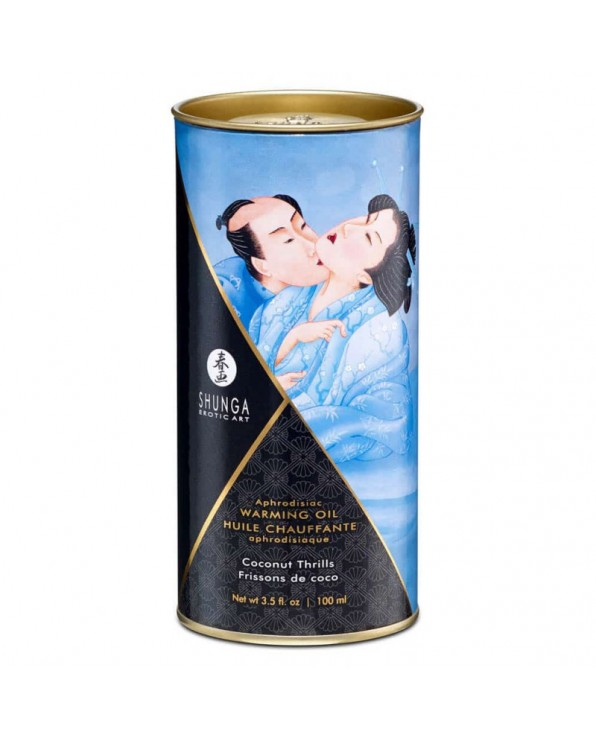 Olio Afrodisiaco Riscaldante 100 ml Cocco - Shunga