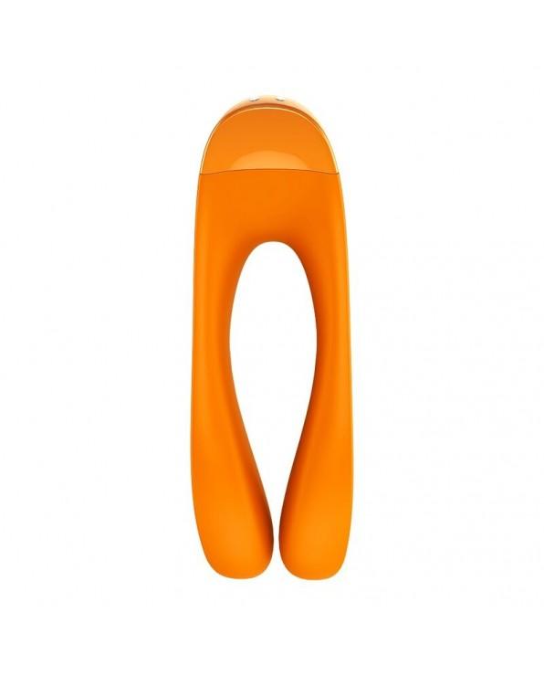 Candy Candy Finger Vibrator Orange - Satisfyer