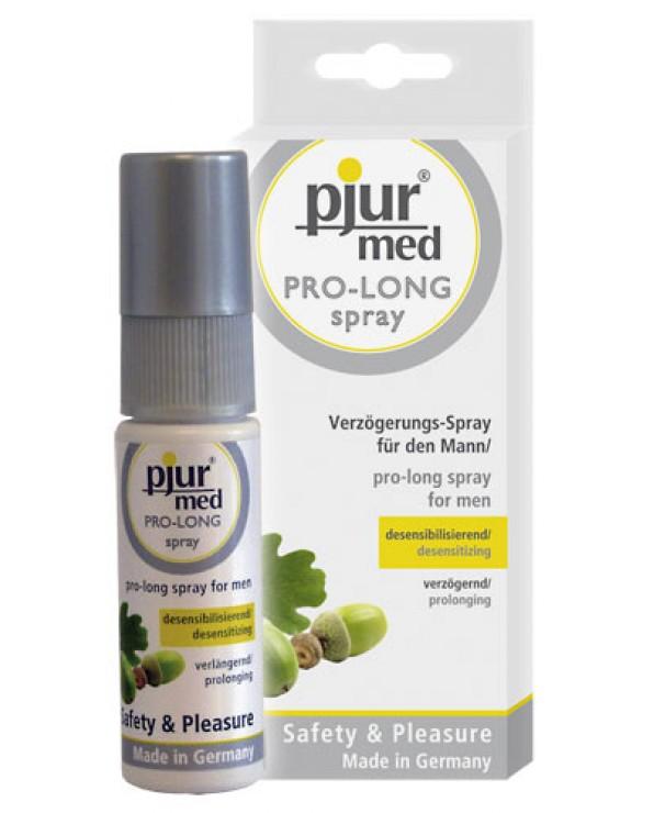 Pjur Med Pro-Long, spray ritardante per uomo, 20 ml