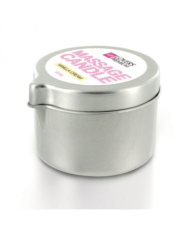 Candela da massaggio LoversPremium - Vanilla Cream
