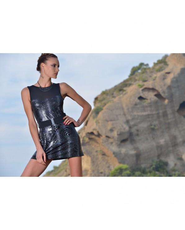 Serena Dress Leopard - Collection Vol 6 P'tites Folies Patrice Catanzaro