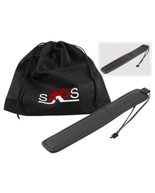 Paddle nero in pelle - Saxos