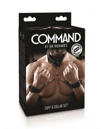 Set di polsini e collare- Command SR