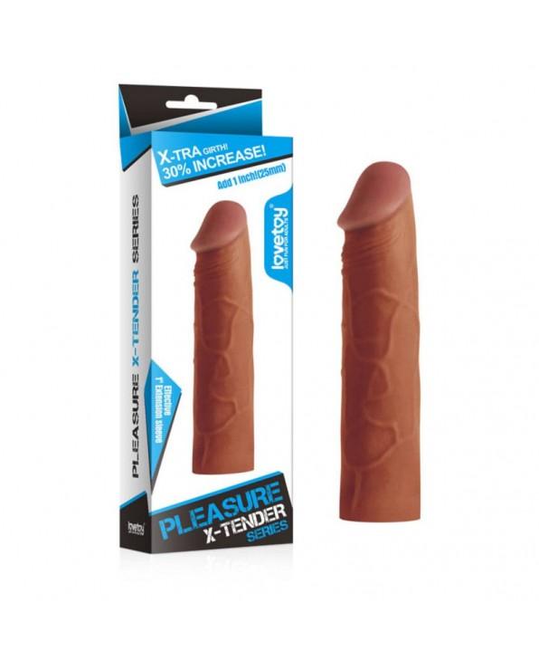X-Tender Pleasure Sheath - 17,2 cm