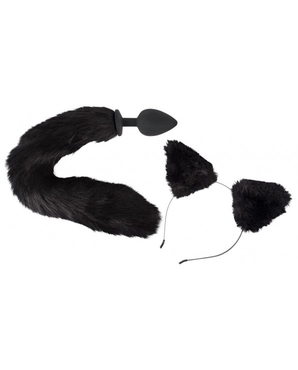 Pet Play Plug & Ears