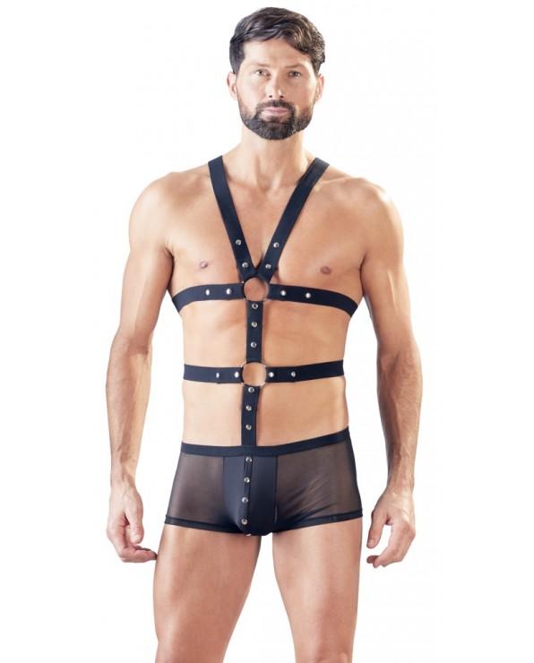 Boxer con harness da uomo