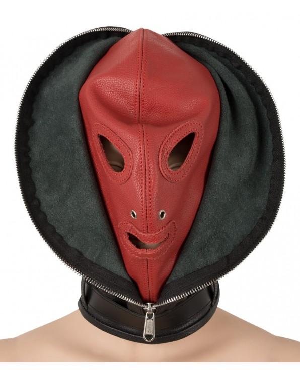 Leather Double Mask - Zado