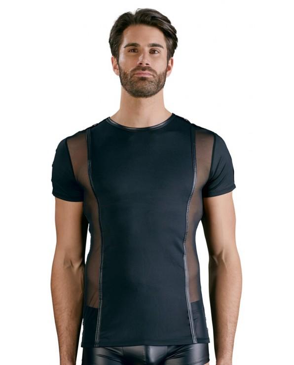 Shirt nera da uomo