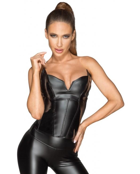 Sexy corsetto in vinile