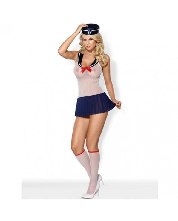 Marine Girl Costume 4 pezzi - Obsessive