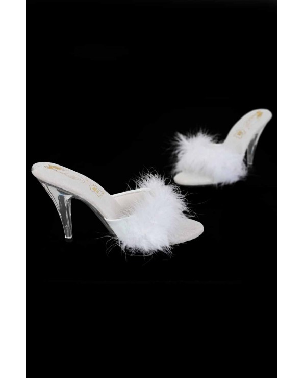 Scarpe tacco piccolo 10 cm- White