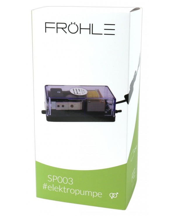 Pompa a vuoto elettrica Fröhle