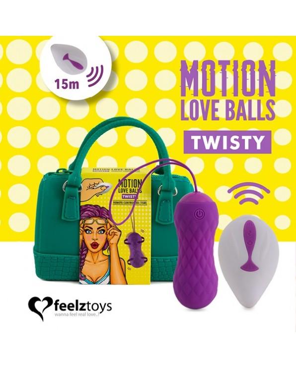 Ovetto vibrante con telecomando a distanza Twisty - FeelzToys