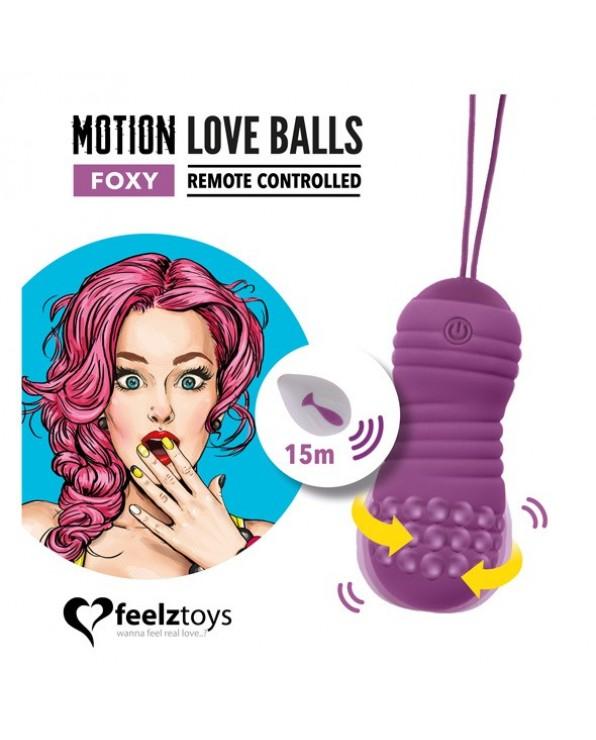 Ovetto vibrante con telecomando a distanza Foxy - FeelzToys