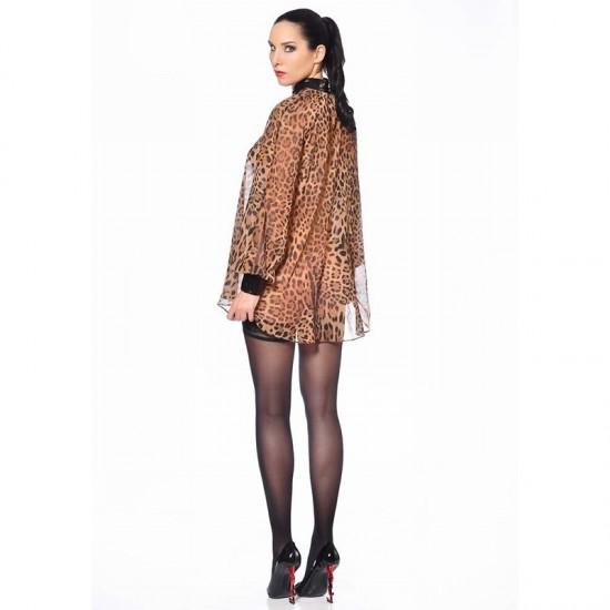 Emilia blouse leopard - Parice Catanzaro