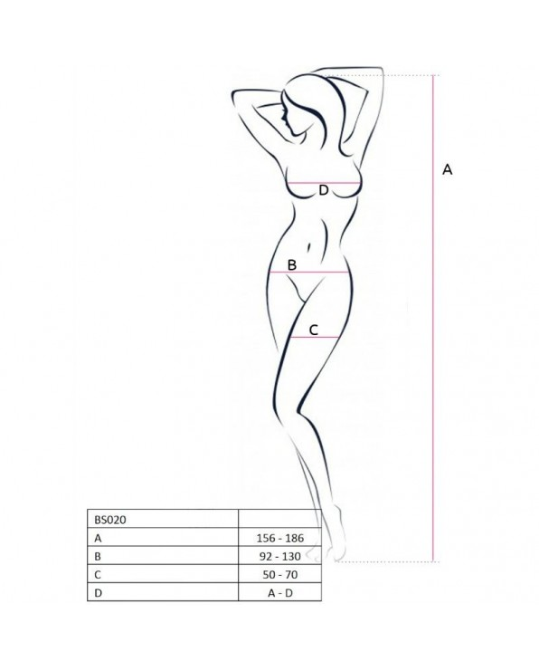 Bodystocking BS020 - Passion