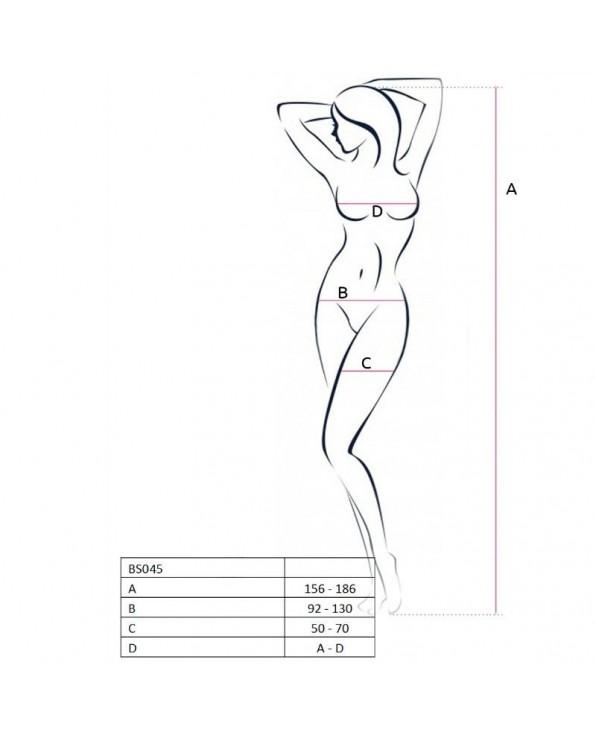 Bodystocking BS045 Nera - Passion