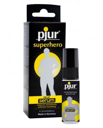 Pjur Super Hero 20 ml Concentrated Delay Serum for men
