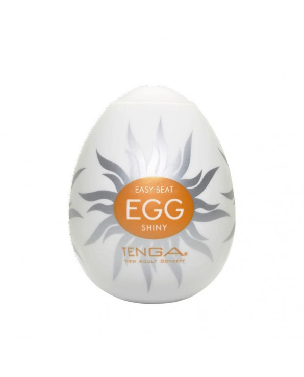 Masturbatore A Forma Di Uovo - Tenga - Shiny