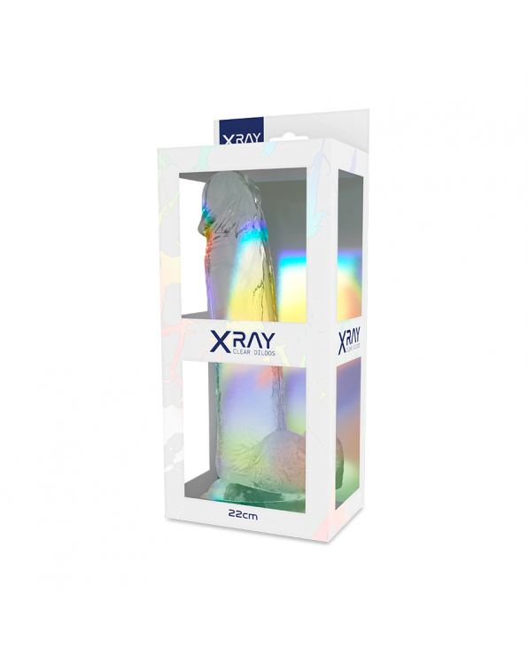 XRAY CLEAR COCK 22 CM X 4,6 CM